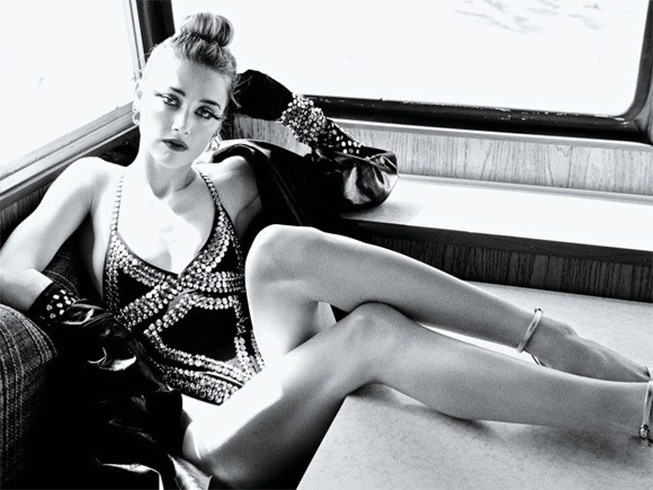Amber Heard for Allure