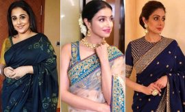 Bollywood Celebrity Saris