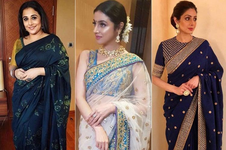 Bollywood Celebs Sari Styles