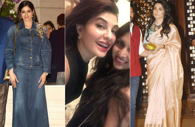 Bollywood at Ambanis Party