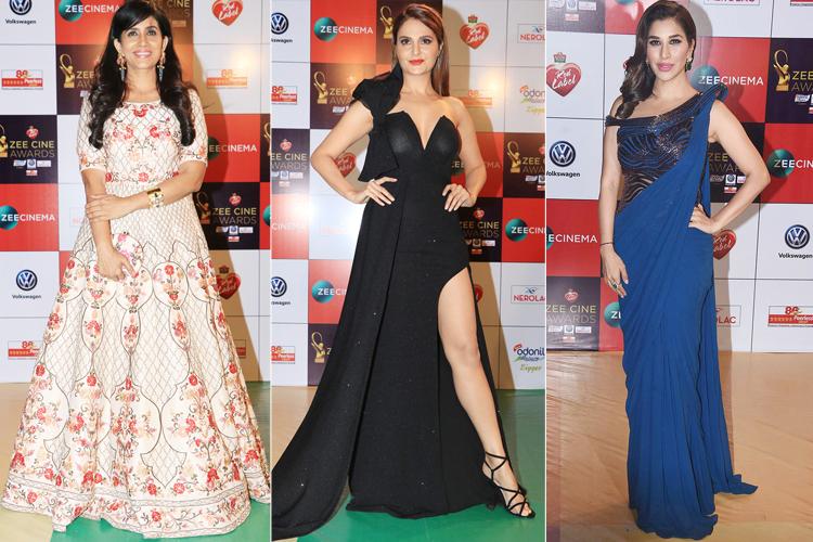 Celebs at Zee Cine Awards