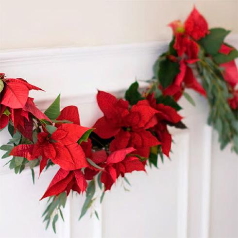 Christmas garlands for Doors