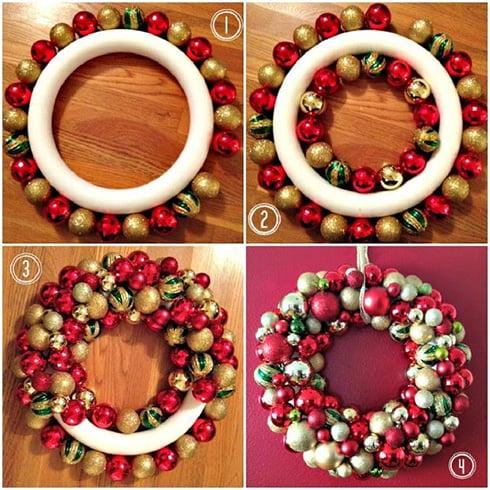 Christmas wreath Step by Step