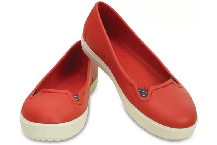 Crocs Women Flame White Flats