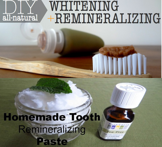 DIY To Make Remineralizing Toothpaste