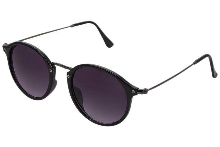 Faddish Gradient Round Unisex Sunglasses