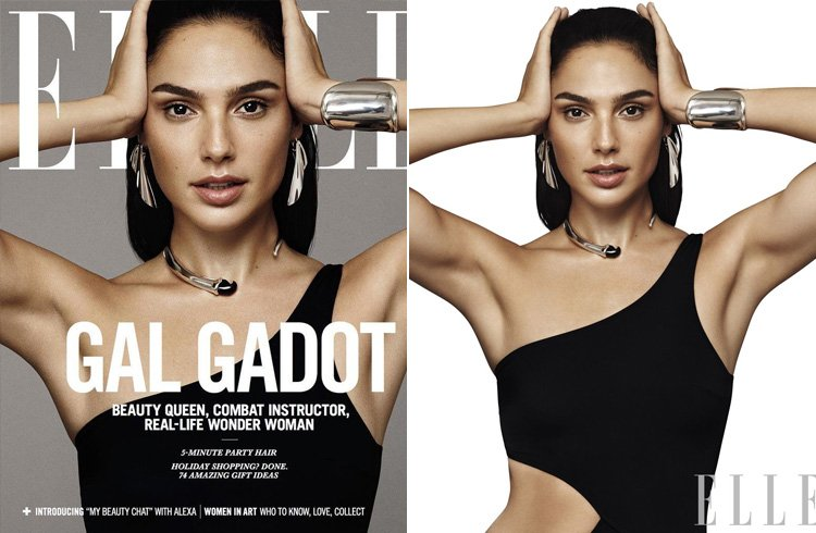 Gal Gadot for Elle US