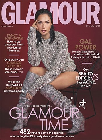 Gal Gadot for Glamour UK