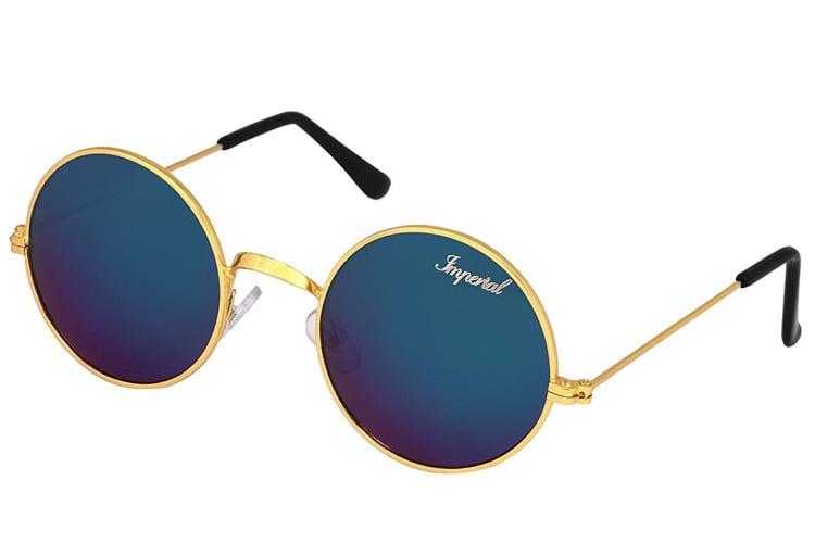 Imperial Club Round Unisex Sunglasses