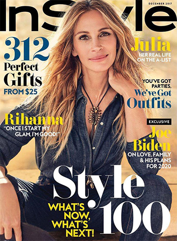 Julia Roberts for InStyle US