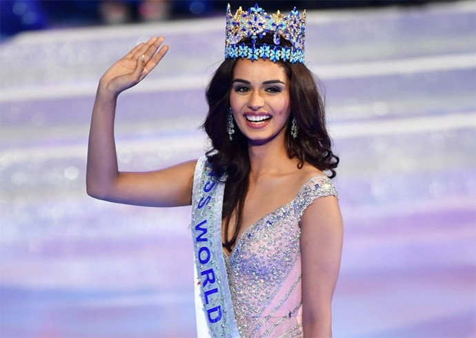 Manushi Chillar Miss World 2017