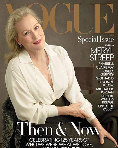Meryl Streep for Vogue US