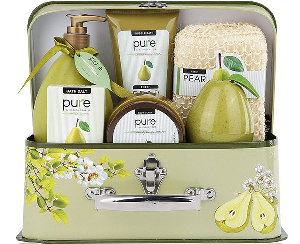 Pure Spa Gift Basket by Rachelle Parker