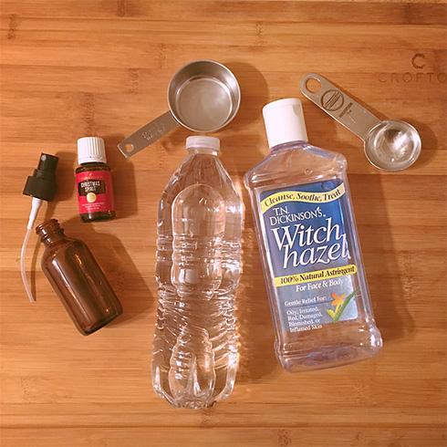 Recipe For Christmas Spirit Room Spray