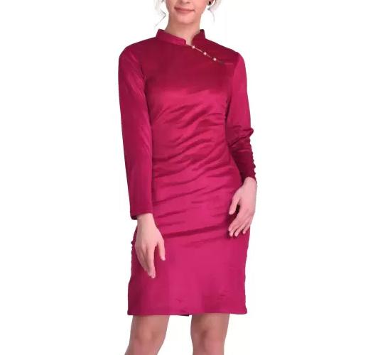 Saieraa Women Bodycon Purple Dress