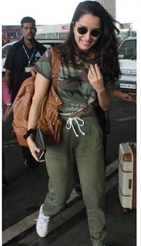 Shraddha Kapoor Airport