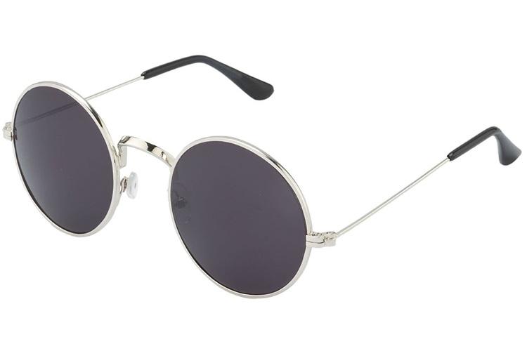 Silver Kartz Classic Round Unisex Sunglasses