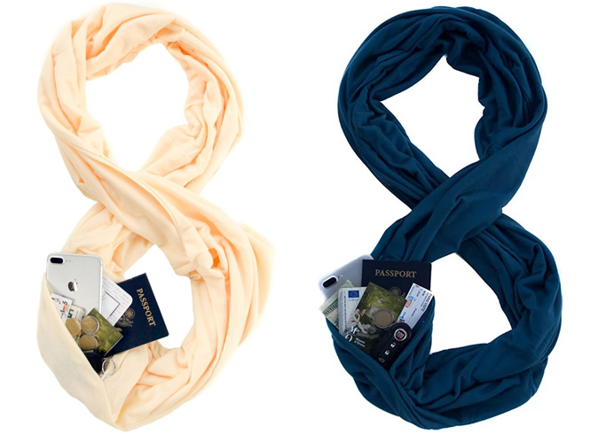 Waypoint Goods Travel Scarf