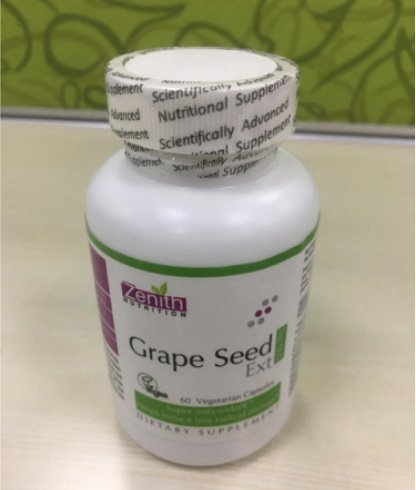Zenith Nutrition Grape Seed Ext