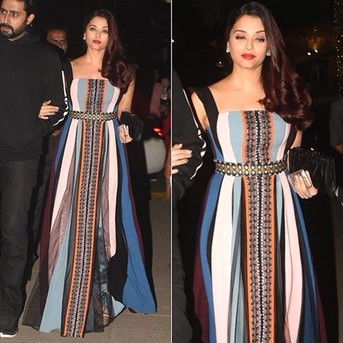 Aishwarya Rai At Christmas Celebrations