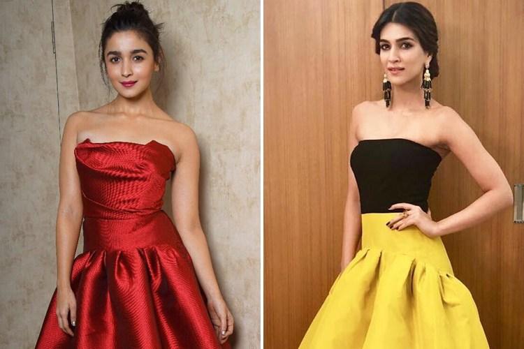 Alia And Kriti at Kids Choice Of Awards 2017
