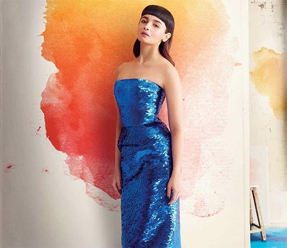 Alia Bhatt Elle 2017 Photoshoot