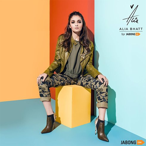 Alia Bhatt for Jabong
