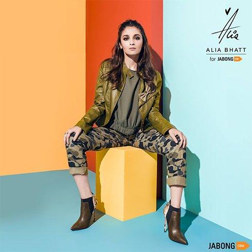 Alia Bhatt for Jabong