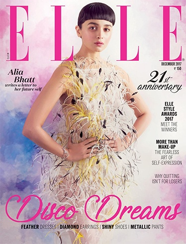 Alia Bhatt on Elle December 2017