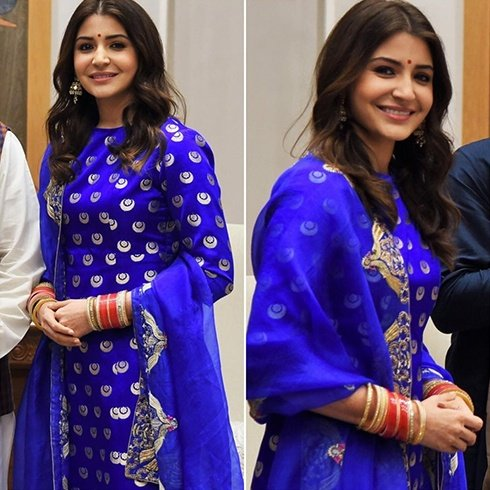 Anushka Sharma in Raw Mango