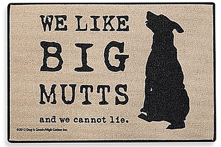 Big Mutts Doormat