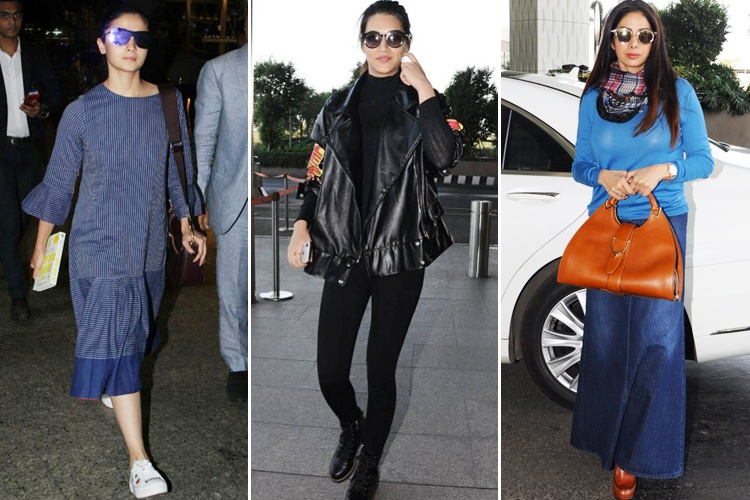 Bollywood Divas Airport Fashion