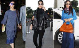 Bollywood Divas Airport Fashion