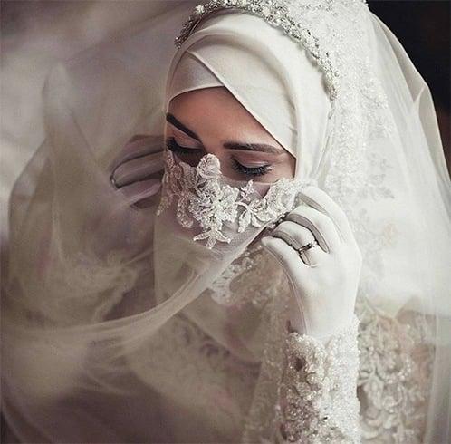 Bridal Niqab Designs