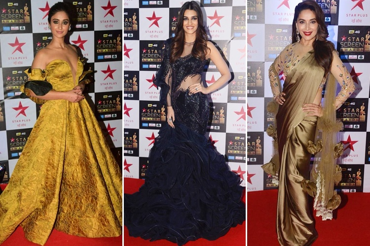Celebs at Star Screen Awards 2017