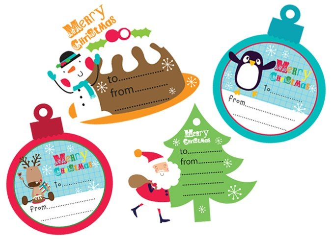 Christmas Gift Tags For Kids.Christmas Gift Tags Are So Cool Here Are Many Ideas To