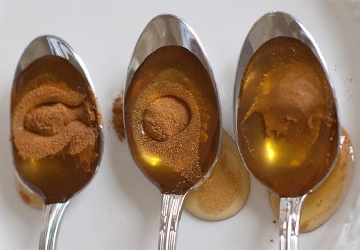 Cinnamon Powder and Honey