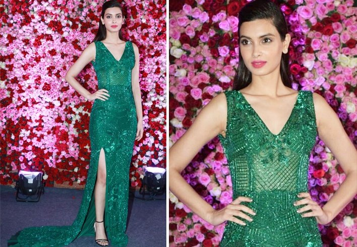 Diana Penty At Lux Golden Rose Awards 2017