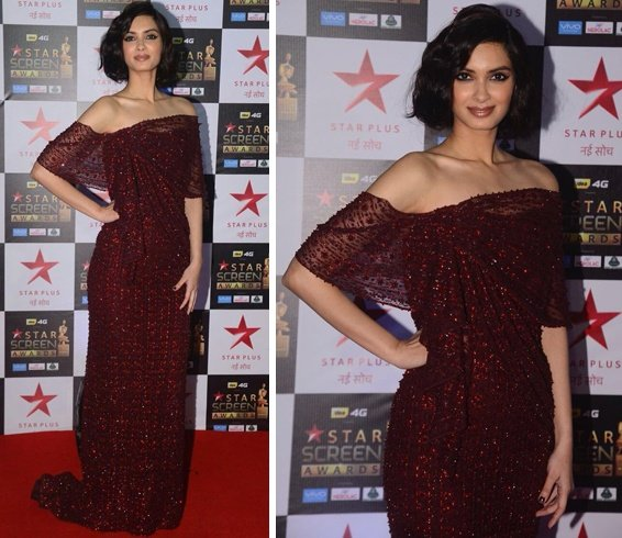 Diana Penty at Star Screen Awards 2017