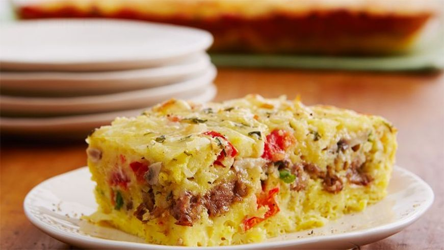 Egg Casserole With Bread