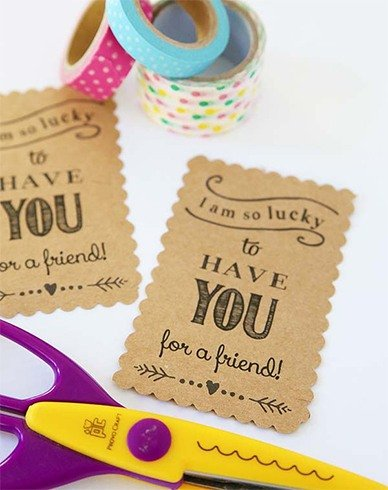 Homemade Gift Tags Templates