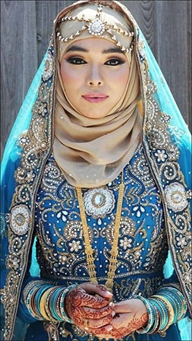 Hijab Bride Muslim Wedding Dress