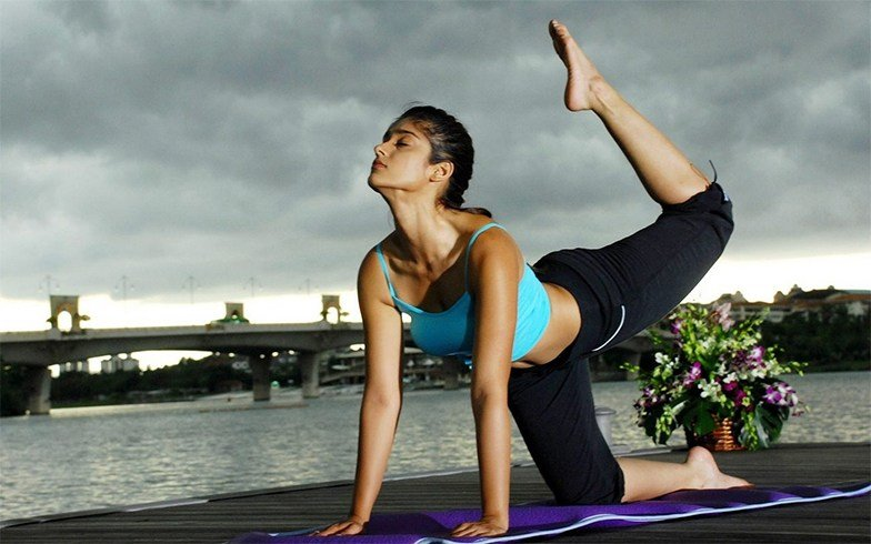Ileana D'Cruz Workout