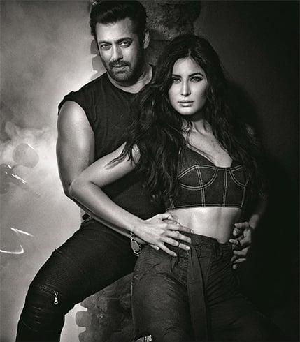 Katrina Kaif and Salman Khan Vogue India December 2017