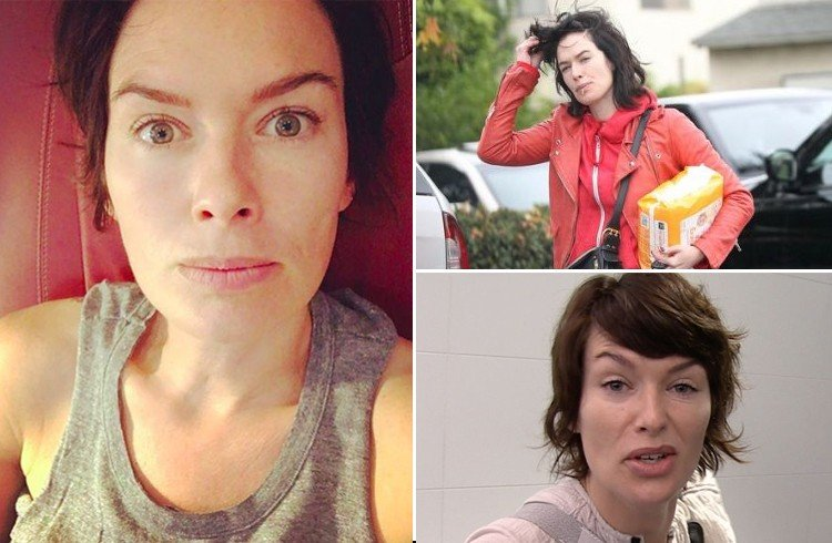 Lena Headey Without Makeup