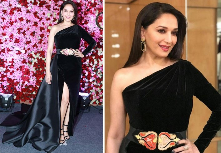 Madhuri Dixit At Lux Golden Rose Awards 2017
