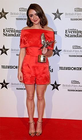 Maisie Williams Awards