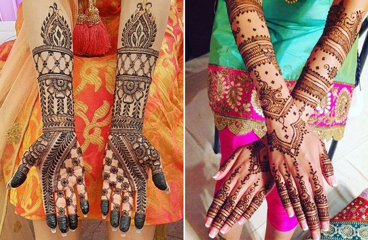 Mehndi desig for engagement