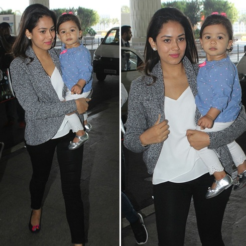 Mira Rajput Airport Fashion