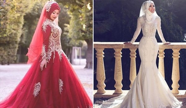 Top Muslim Wedding Dress Ideas To Look Like A Dream Bride!